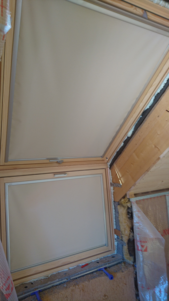 Verriere d'angle velux